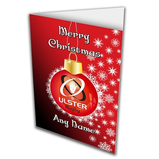 Greeting Card Christmas Bauble