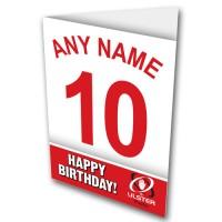 Greeting Card Name & Number