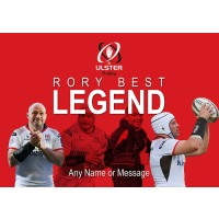 Rory Best Ulster Legend Retirement Personalised Gifts