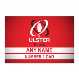 Aluminium Wall Art - Fathers Day- Number One Dad