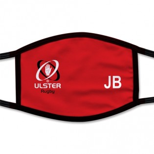 Face Mask Logo Red