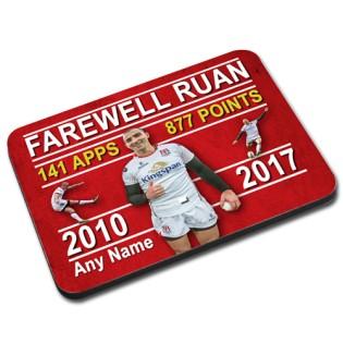 Mouse Mat. Farewell Ruan