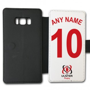 Samsung Galaxy S8 Flip Case - Name & Number