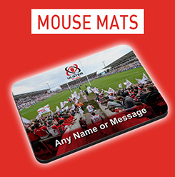 Personalised Ulster Rugby Mousemats